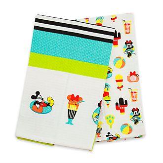 Disney Store Mickey Mouse Disney Eats Tea Towels