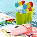 Disney Store Mickey Mouse Disney Eats Ice Lolly Moulds, Set of 4
