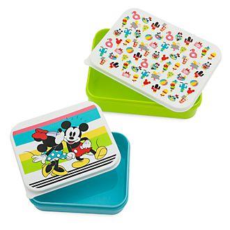 Fiambreras Mickey y Minnie, Disney Eats, Disney Store (set de 2unidades)