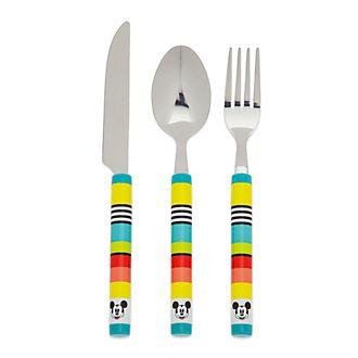 Disney Store Mickey Mouse Disney Eats Cutlery Set