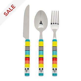 Disney Store Mickey Mouse Disney Eats Cutlery Set