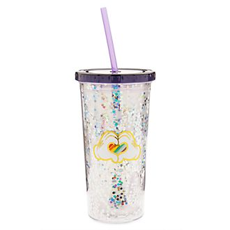 Disney Store - Rainbow Disney - Micky Maus - Strohhalm-Becher