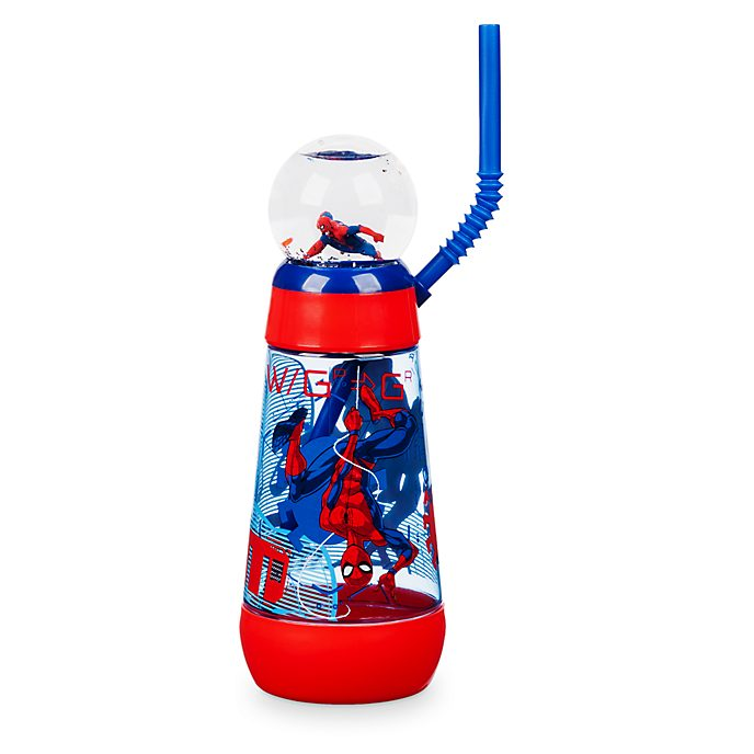 Disney Store Spider-Man Globe Tumbler