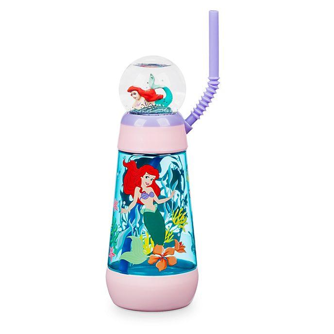 Disney Store The Little Mermaid Globe Tumbler