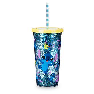 Bicchiere con cannuccia Stitch Disney Store