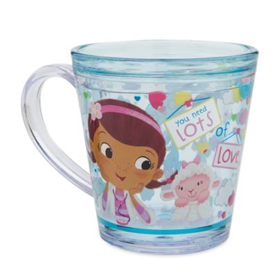 Doc McStuffins - Glitzerbecher