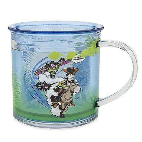 Taza transparente Toy Story
