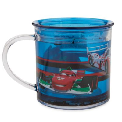 Taza transparente Cars