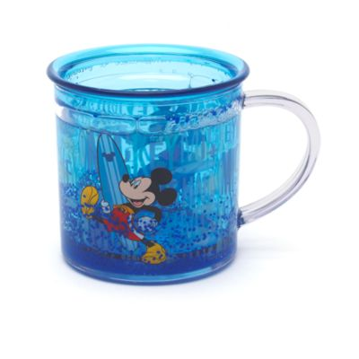 Taza transparente Mickey Mouse