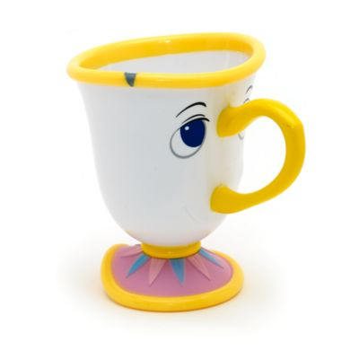 Beauty And The Beast Chip Cup Chip Character ...