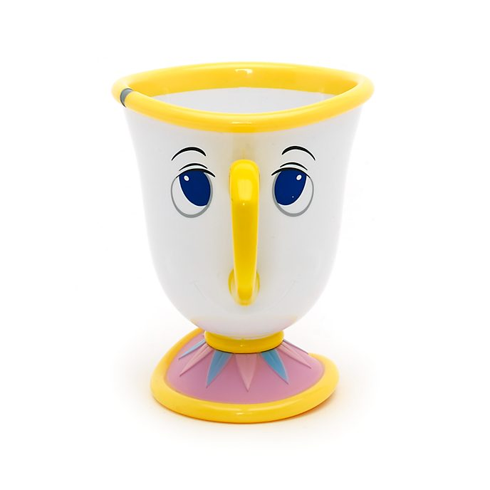 Disney Store Chip Character Cup, Beauty And The Beast