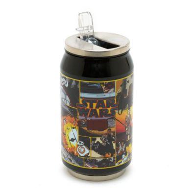 Star Wars - Flasche mit Strohhalm