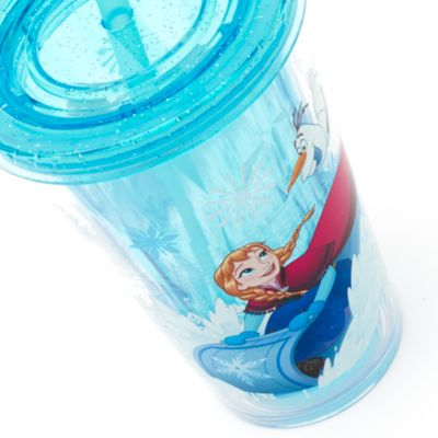 Frozen Tumbler With Straw