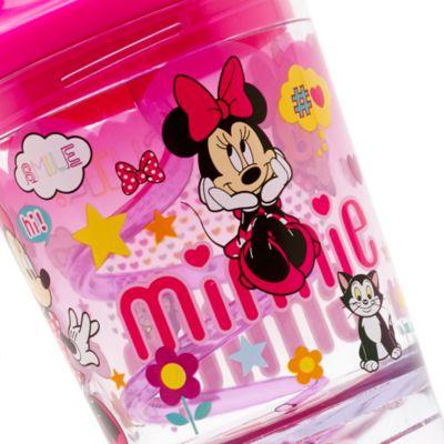 Minnie Maus - Strohhalmbecher mit Schneekugel
