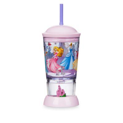 Disney Prinzessin - Strohhalmbecher mit Schneekugel