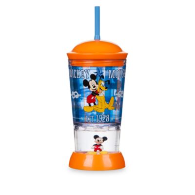 Mickey Mouse And Pluto Dome Tumbler