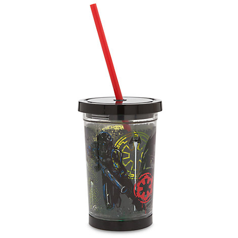 Death Trooper Light-Up Tumbler With Straw, Rogue One: A Star Wars Story