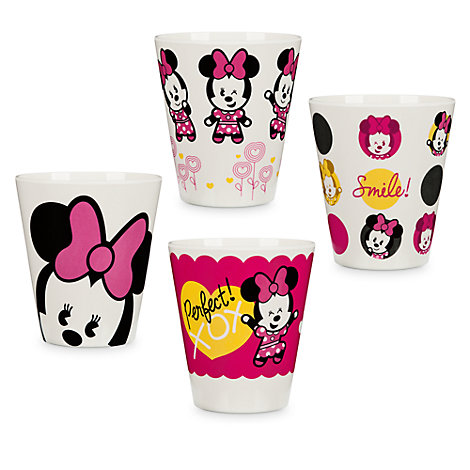 Minnie Mouse MXYZ Set Of 4 Cups
