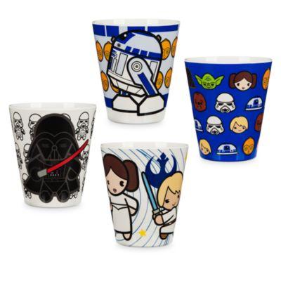 Set vasos Star Wars, colección MXYZ (4 u.)
