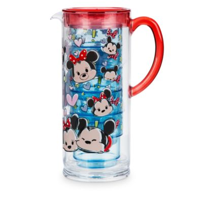 Disney Tsum Tsum Water Jug Set With 5 Cups