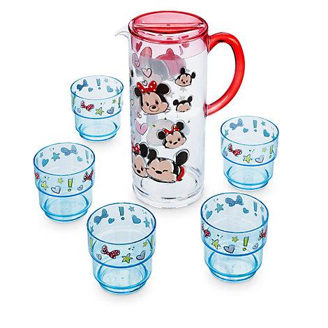 Disney Tsum Tsum - Set mit Karaffe und fünf Tassen