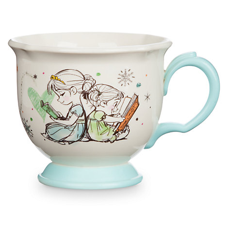 Taza infantil de té Frozen, colección Disney Animators