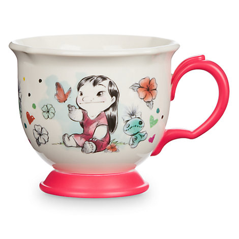 Taza infantil de té Lilo y Stitch, colección Disney Animators