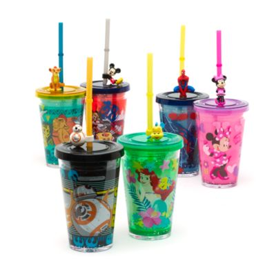 Little Mermaid Straw Tumbler With Straw