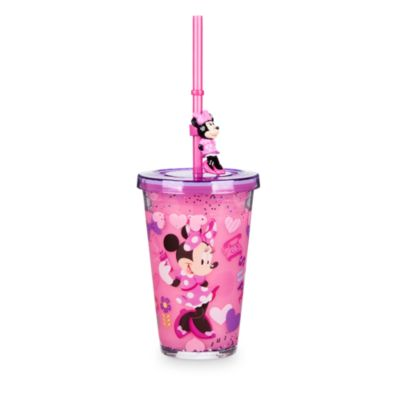 Minnie Mouse Straw Tumbler With Straw