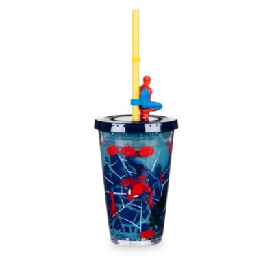 Spider-Man Straw Tumbler With Straw