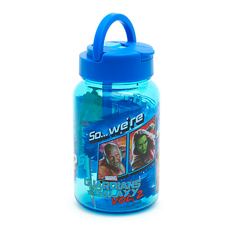 Guardians Of The Galaxy Volume 2 Bottle With Straw