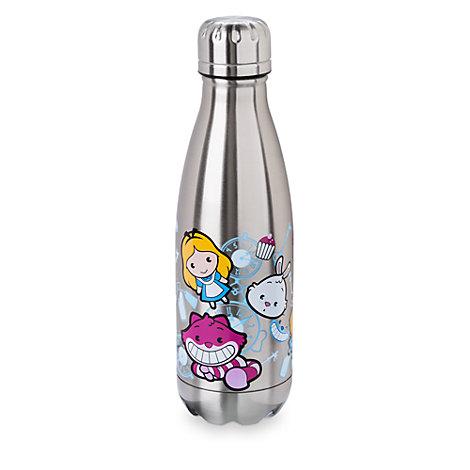 Botella rellenable de acero inoxidable de Alicia en el País de las Maravillas, colección MXYZ