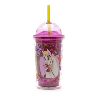 Rapunzel Tumbler with Straw, Tangled