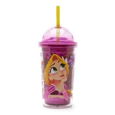 Bicchiere grande con cannuccia Rapunzel, L'intreccio della torre
