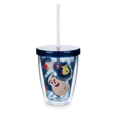 Toy Story-drikkekrus med sugerør, der skifter farve