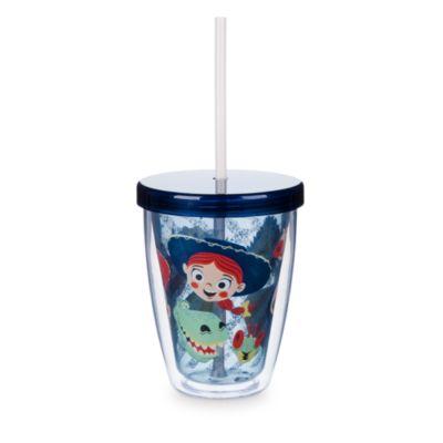 Toy Story - Becher mit Strohhalm, der die Farbe wechselt