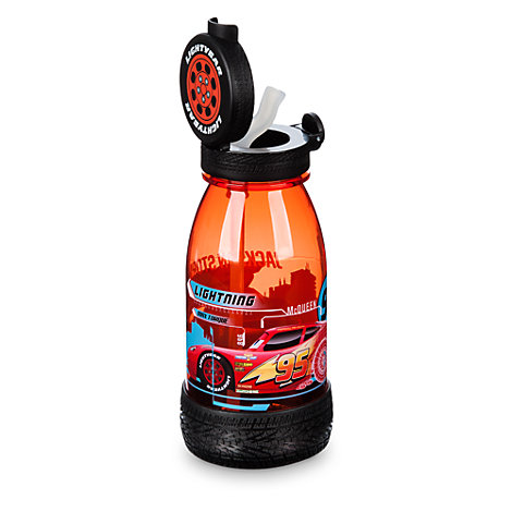 Disney Pixar Bilar 3 flaska med sugrör