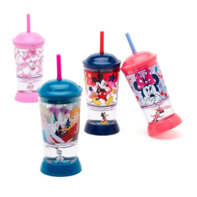 Bicchiere con palla di neve Frozen - Il Regno di Ghiaccio