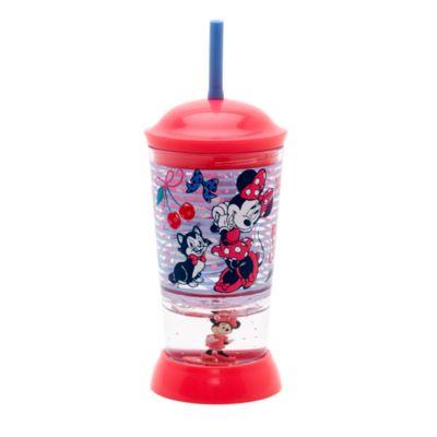 Bicchiere con palla di neve Minni