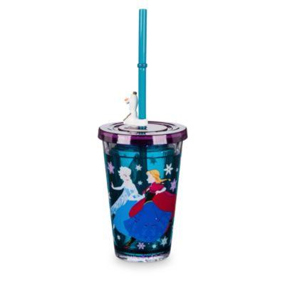 Sjovt Frost drikkekrus med vandeffekt og sugerør