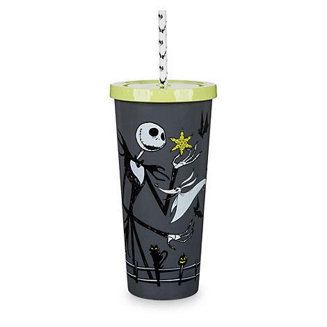 The Nightmare Before Christmas Tumbler with Straw
