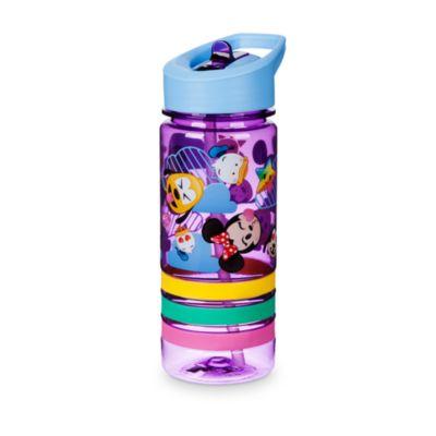 Bottiglia per l'acqua emoji Topolino e amici con bracciali dell'amicizia