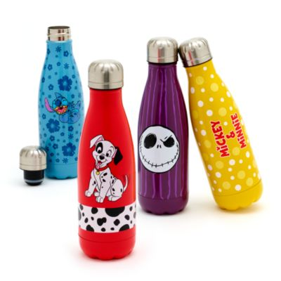 Botella acero inoxidable Mickey y Minnie Mouse