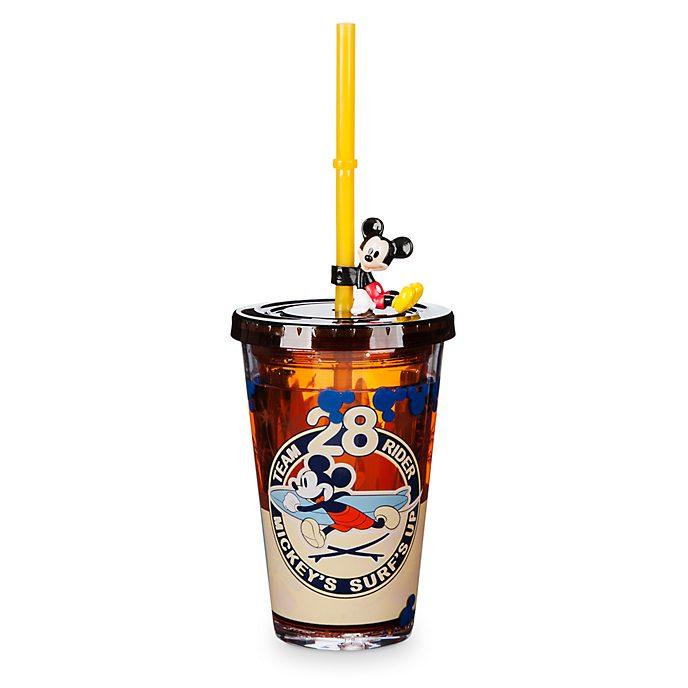 Gobelet avec paille Mickey Mouse