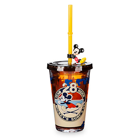 Mickey Mouse Straw Tumbler