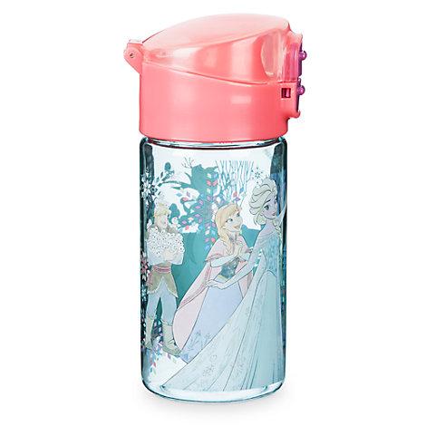 Botella de agua con tapa abatible Frozen: El Reino de Hielo