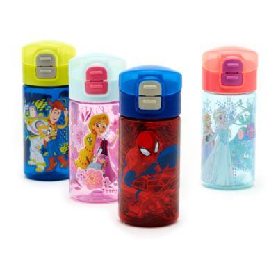 Spider-Man - Wasserflasche mit Klappkappe