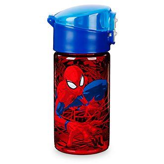 Botella de agua con tapa abatible Spider-Man