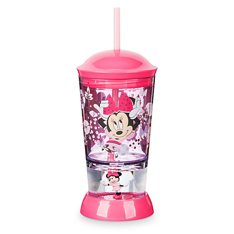 Vaso con base tipo cúpula Minnie Mouse