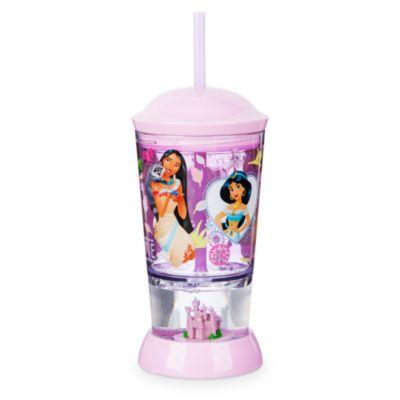 Disney Prinzessin - Kuppelbecher mit Strohhalm